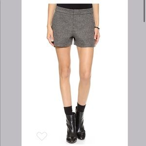 Joie grey wool shorts, Size 8